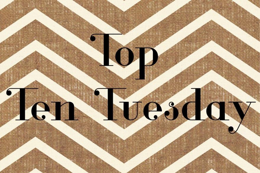 top ten tuesday weekly meme book