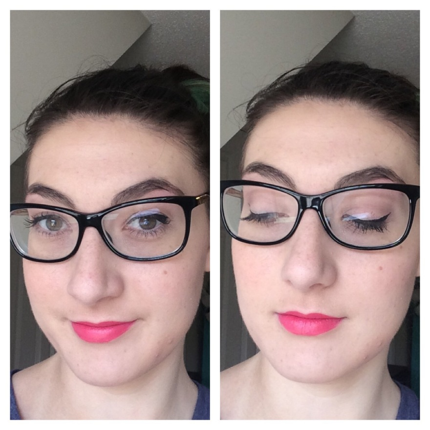 fotd beauty makeup spring bright