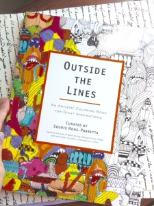 outside the line coloring book