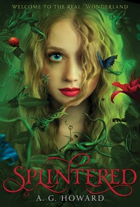 splintered alice in wonderland book