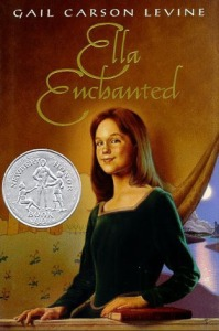 ella enchanted book